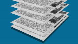 Collage NiIbelungen Motion Design Zeitung animiert Erklärfilm