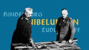 Collage NiIbelungen Motion Design Hindenburg Geschichte Historisch
