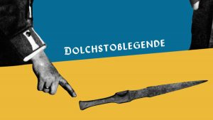 Motion Design Nibelungen, Dolch, Erklärfilm, Collage, historisch