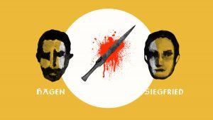 Collage NiIbelungen Motion Design Blut Erklärfilm