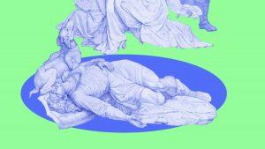 Collage NiIbelungen Motion Design Punkt Kupferstich, Erklärfilm