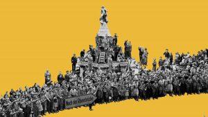historische Collage NiIbelungen Motion Design Geschichte Erklärfilm