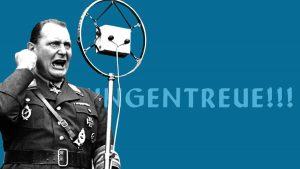 Collage NiIbelungen Motion Design Krieg Propaganda Erklärfilm
