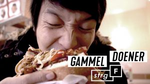 Gammel Doener thumbnail Design STRG F Pauline Branke, Branding Youtube