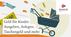 Illustration Geld für Kinder