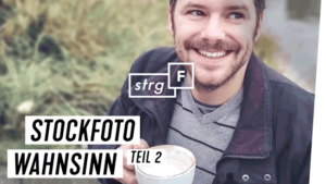 STRG F Thumbnail Design Typografie Gunnar